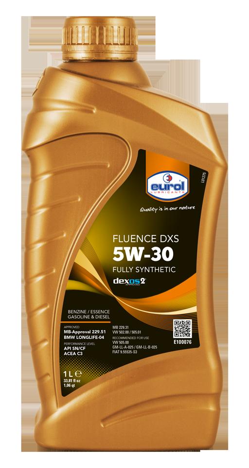 Motorový olej Eurol Fluence DXS 5W-30 1l