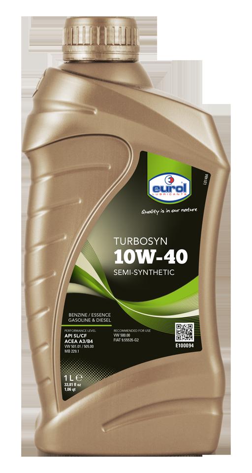Motorový olej Eurol Turbosyn 10W-40 1l
