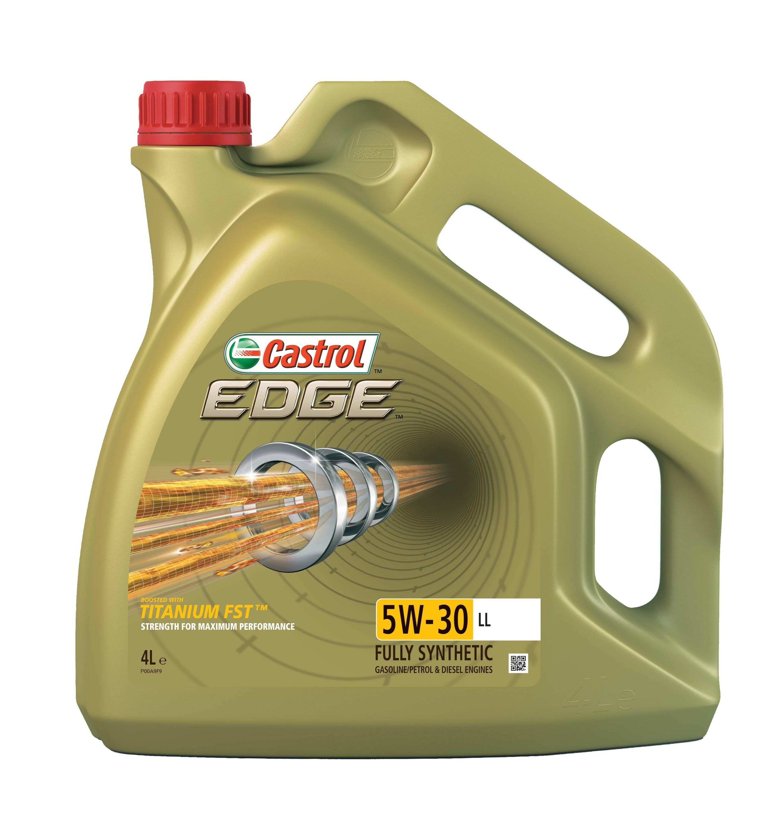 Motorový olej Castrol EDGE 5W30 TITANIUM LL 4L