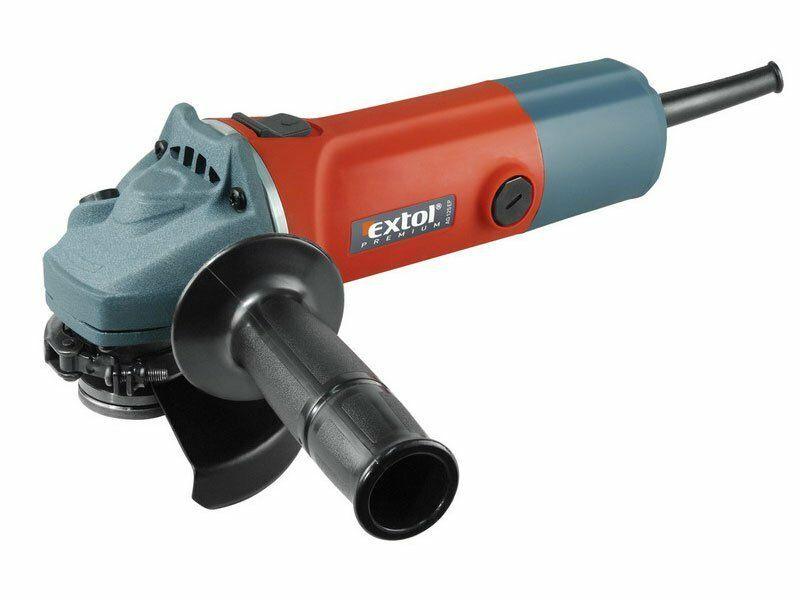 Brúska uhlová 850W, 125mm, EXTOL PREMIUM, AG 125 EP, 8892013