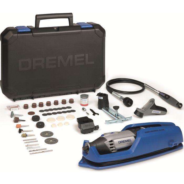 Univerzální nářadí DREMEL 4000 Series, 65 ks příslušenství, kufr, F0134000JC