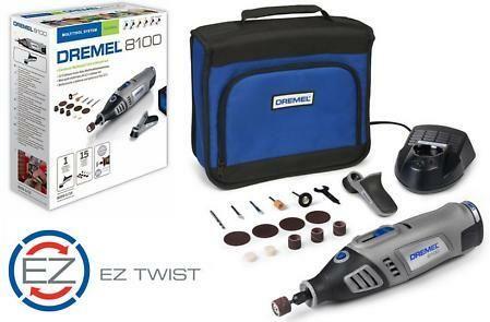 Aku univerzální nářadí DREMEL 8100 Series, 15ks příslušenství, taška, F0138100JC