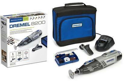 Aku univerzální nářadí DREMEL 8200 Series, 35 ks příslušenství, taška, F0138200JC