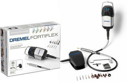 Ohebná hřídel DREMEL Fortiflex, 300 W, 21 ks příslušenství, F0139100JA