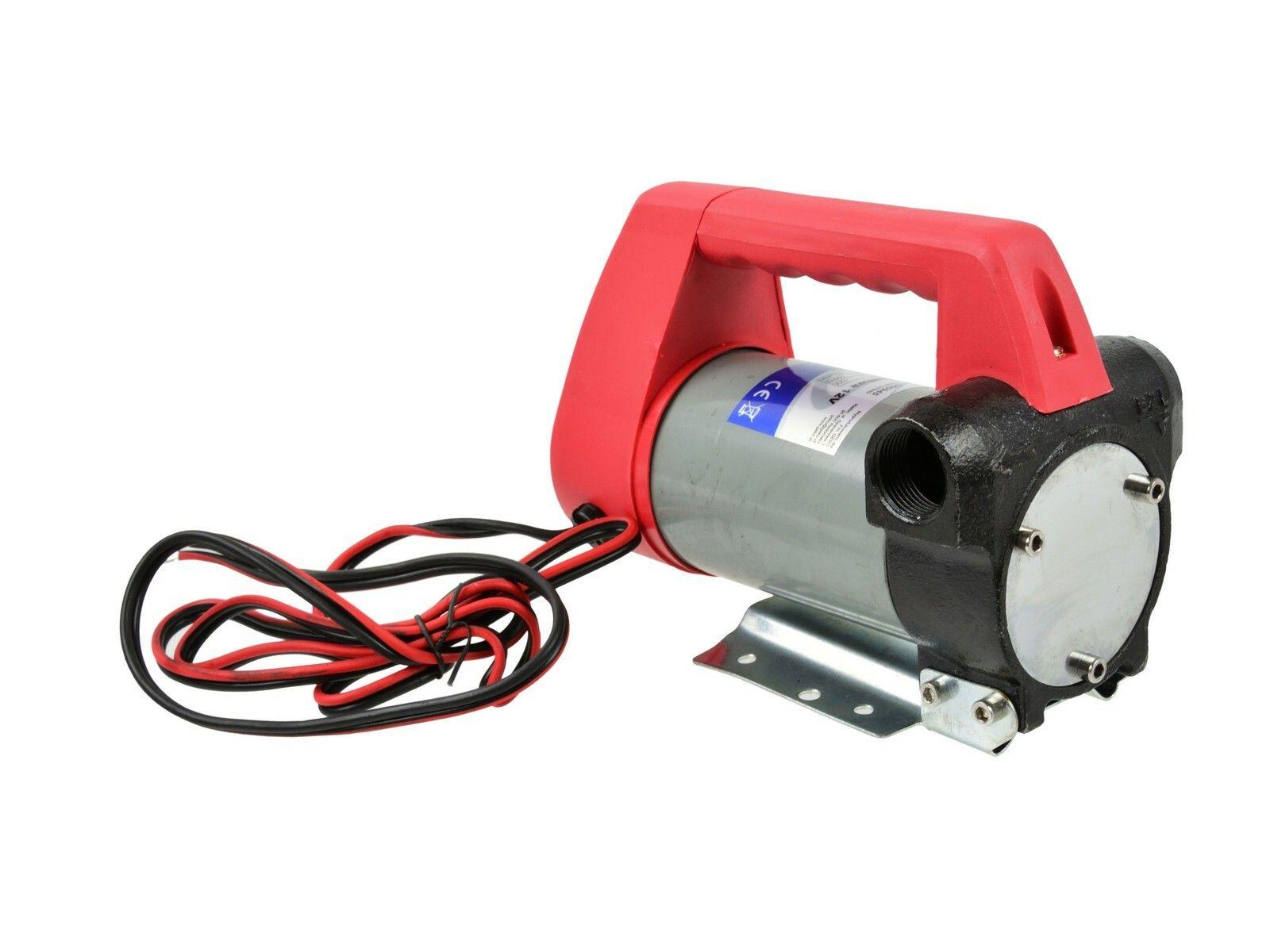 Čerpadlo na naftu, 12V, 155W, 40l/min, plastová rukojeť