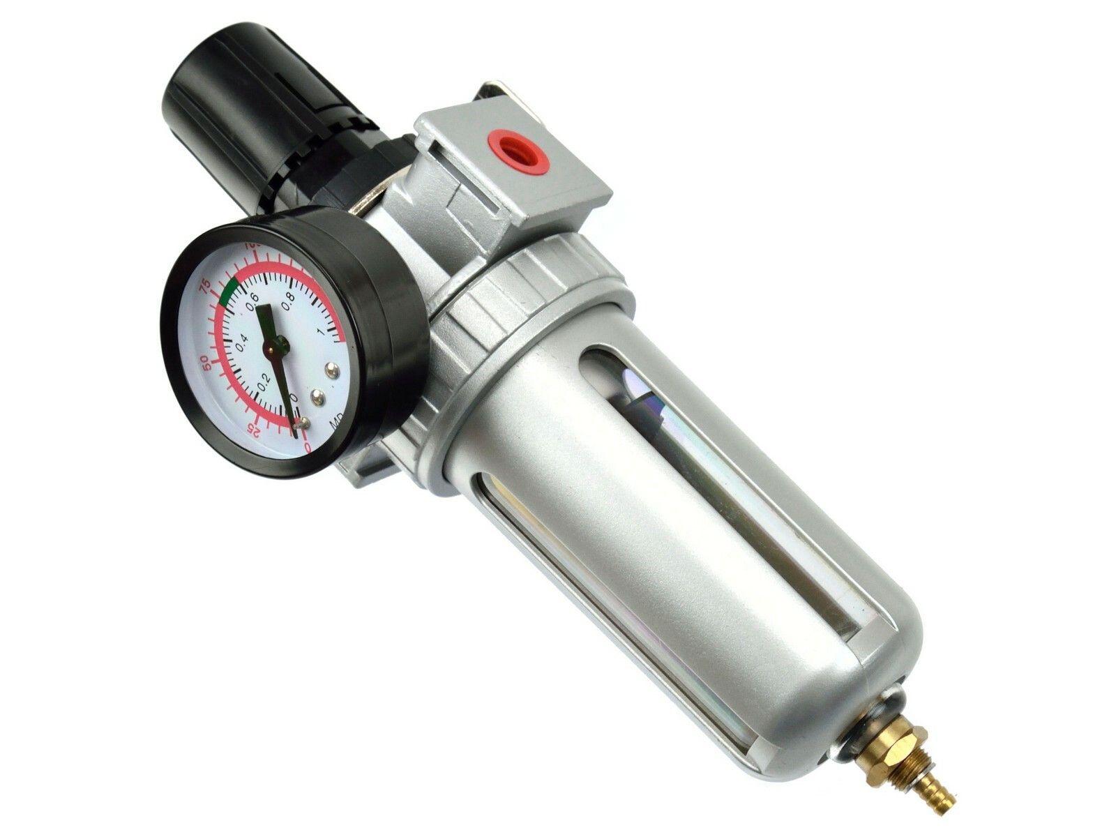 Regulátor tlaku s filtrem a manometrem, max. prac. tlak 10bar