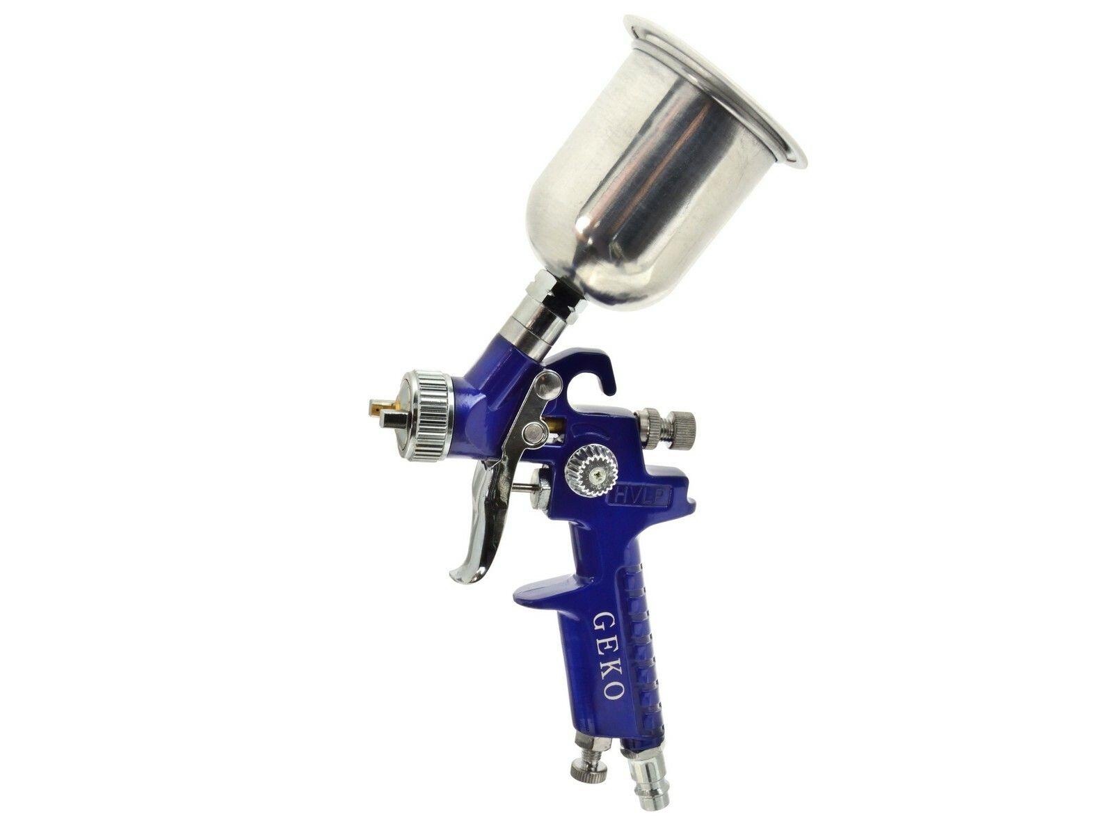 Stříkací pistole HVLP mini, kov. zásobník 150ml max. 3bar