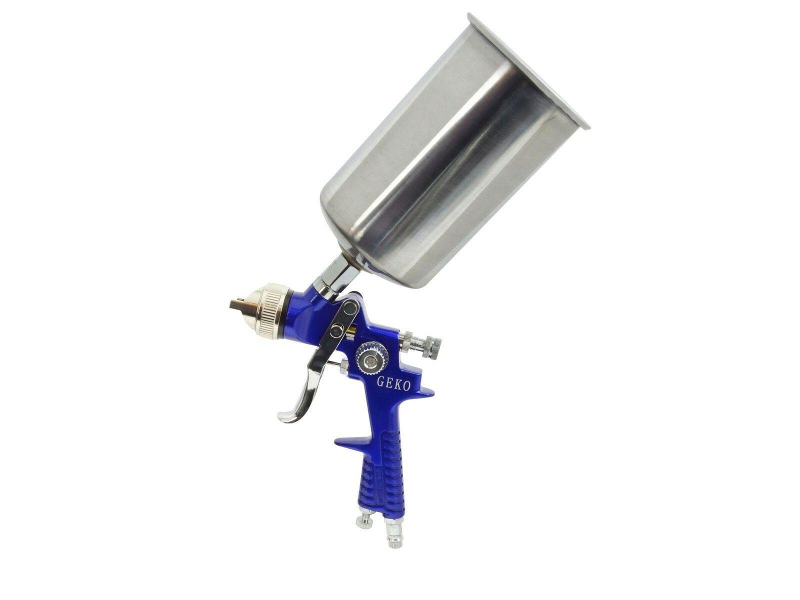 Stříkací pistole HVLP, kovová nádrž 1000ml