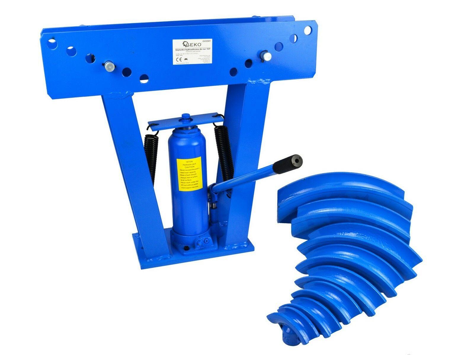 Hydraulická ohýbačka potrubí, 16T, 2 krabice