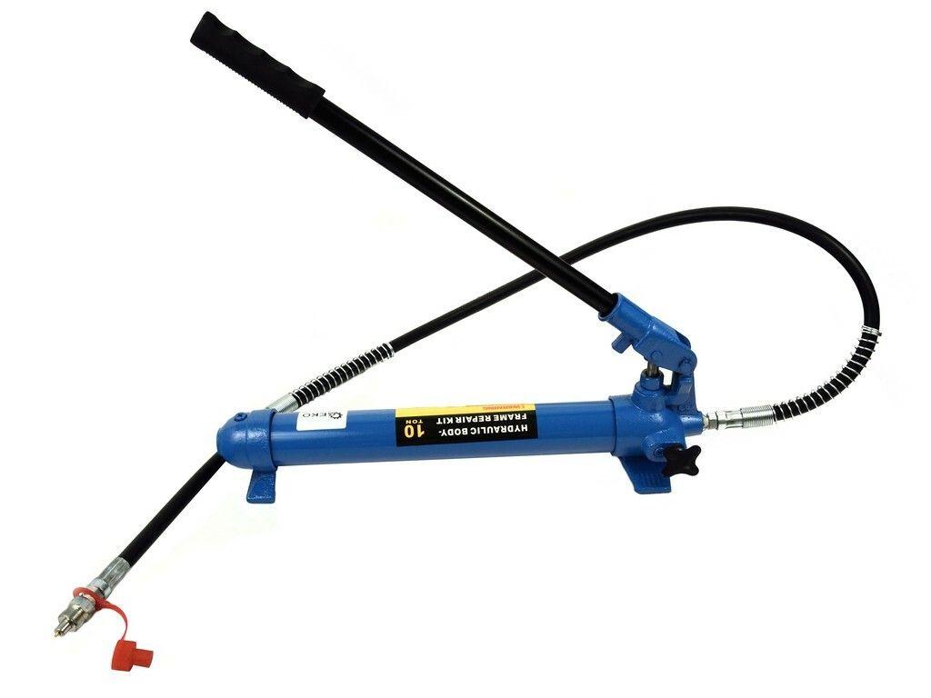 Ruční hydraulická pumpa jednorychlostní 10T, pro hydraulický rozpínák, GEKO