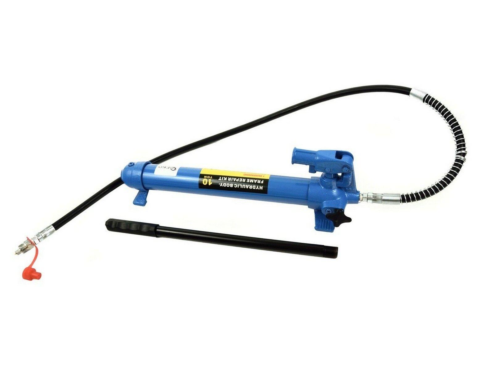 Ruční hydraulická pumpa jednorychlostní 10T, pro hydraulický rozpínák