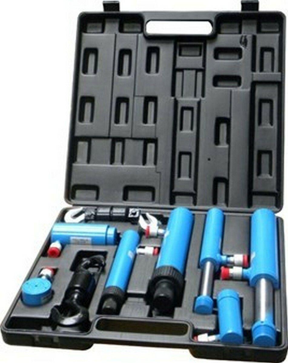 Hydraulické spojky, sada 7ks, kufr, GEKO