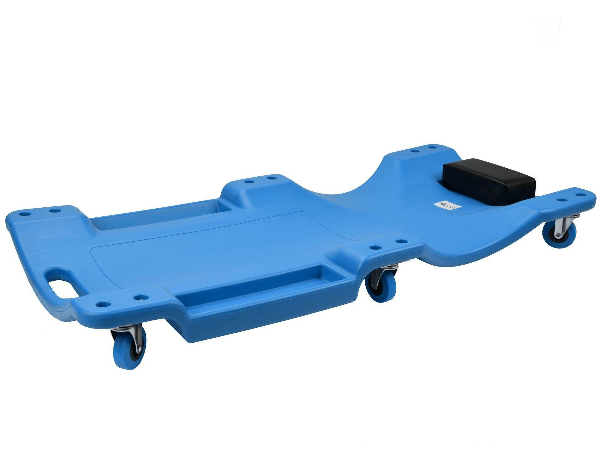 Plastové lehátko, 99,5x46,7x10,5cm, 6 kol - bez krabice