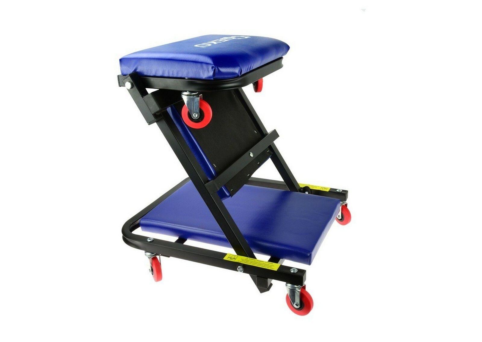 Lehátko / sedačka skládací, pojízdné, 2v1, GEKO