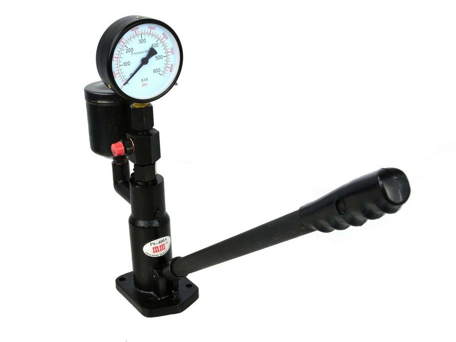 Tester tlaku vsřtikovače, 600 barů, GEKO