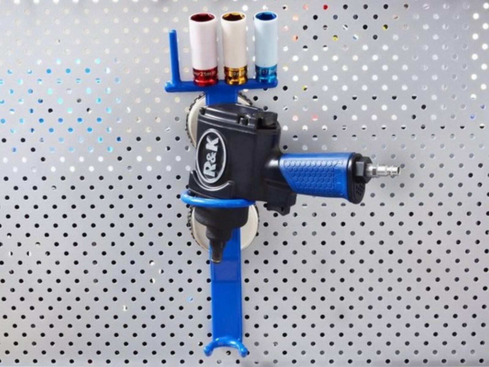 Magnetický držák na pneumatický utahovák a nástrčné klíče