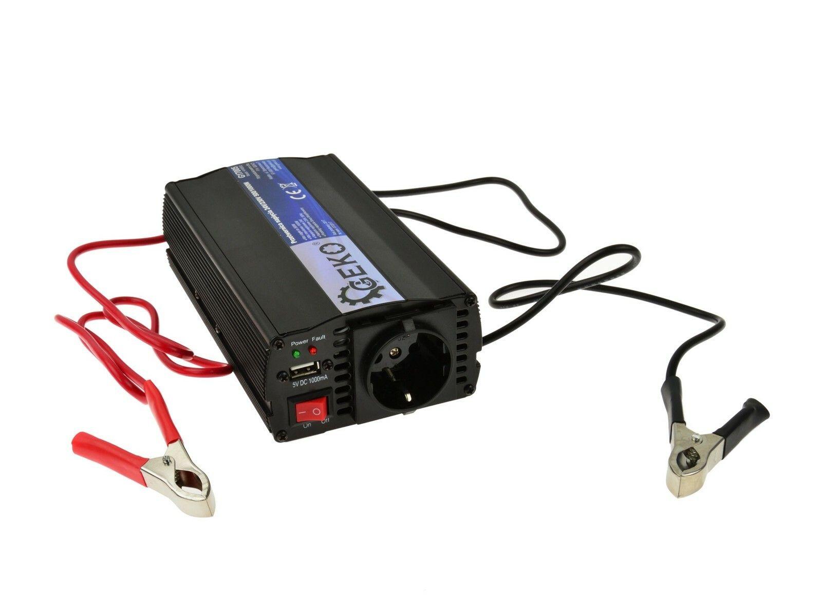 Měnič napětí 24V/230V, 500/1000W