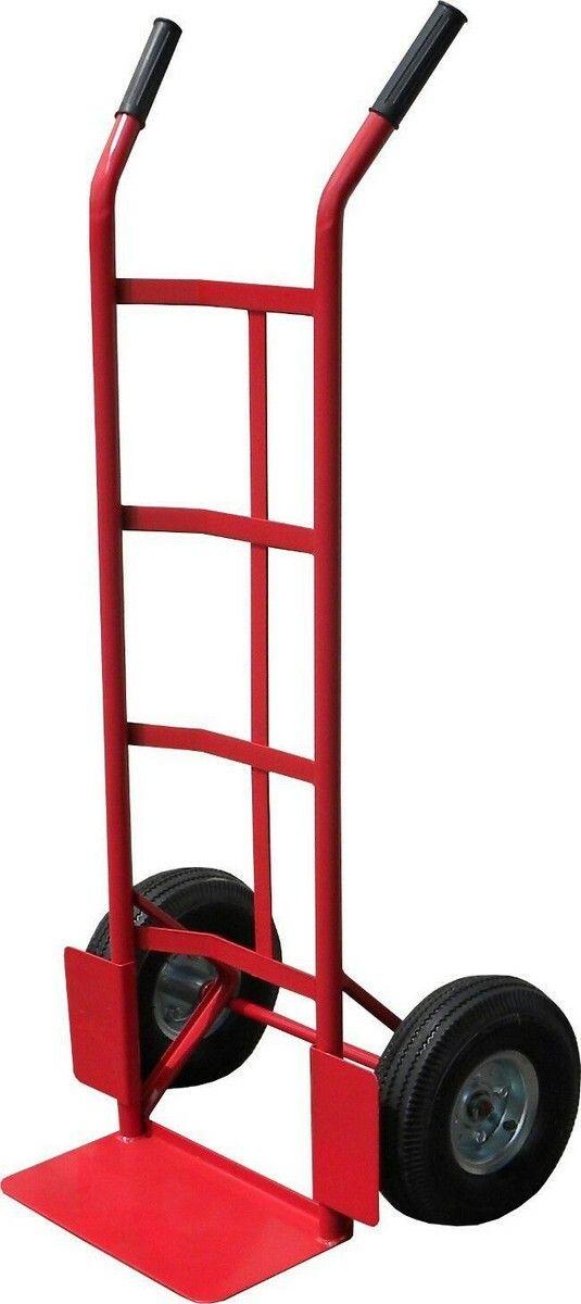 Ruční vozík-rudl, nosnost 200kg 350x180mm, červený, GEKO