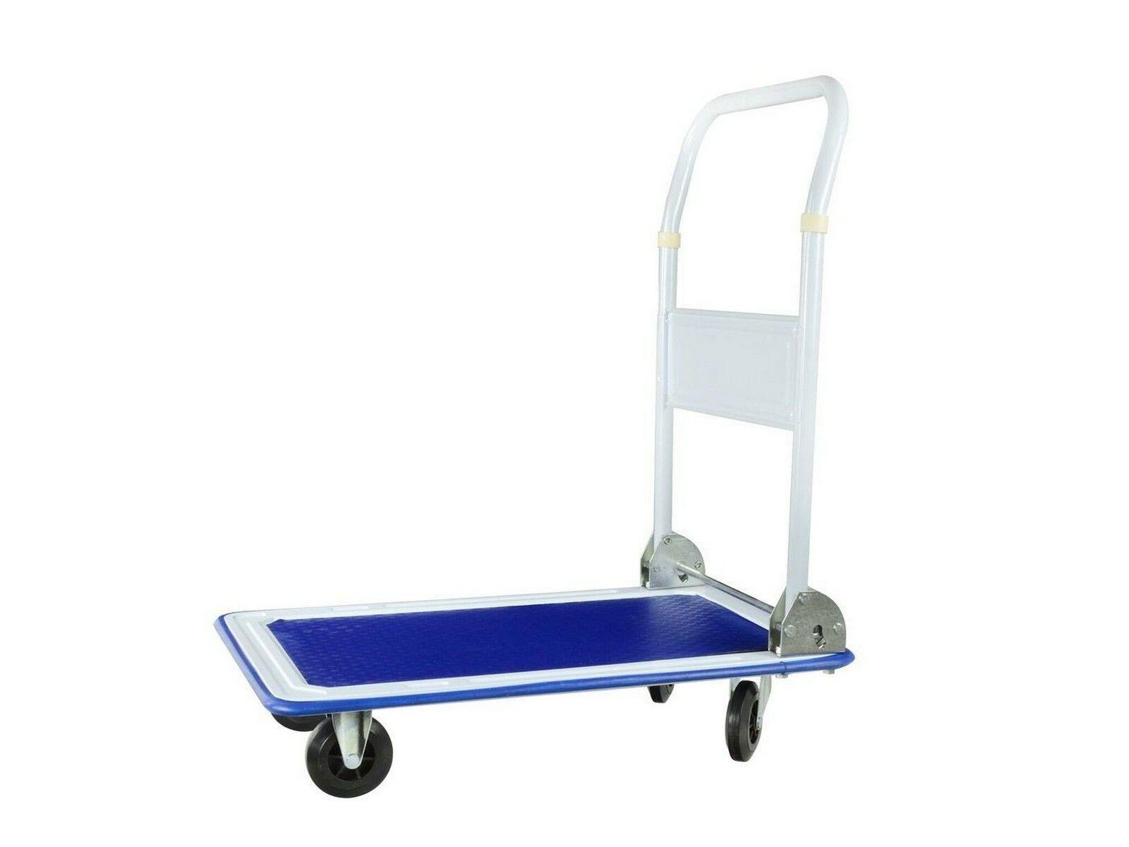 Ruční vozík, nosnost 150 kg, sklopná rukojeť