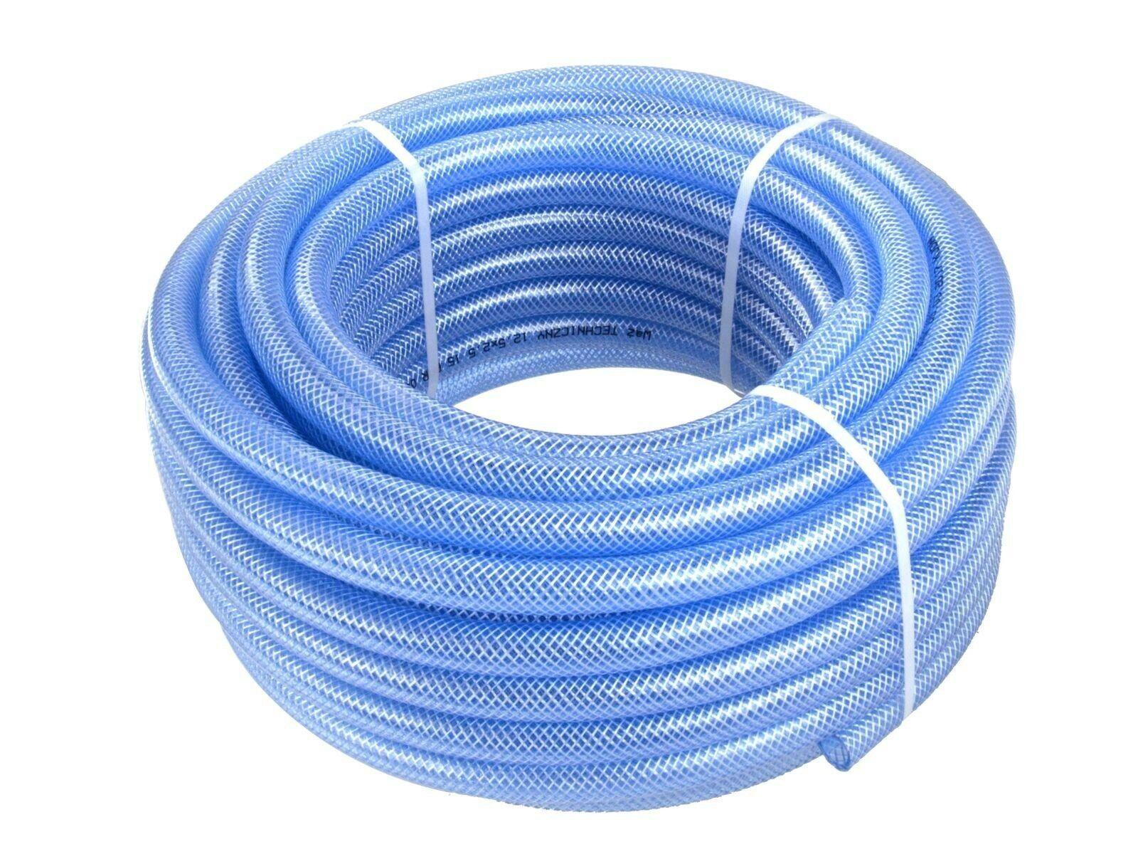 Hadice zesílená modrá, 16x3 mm, 50 m
