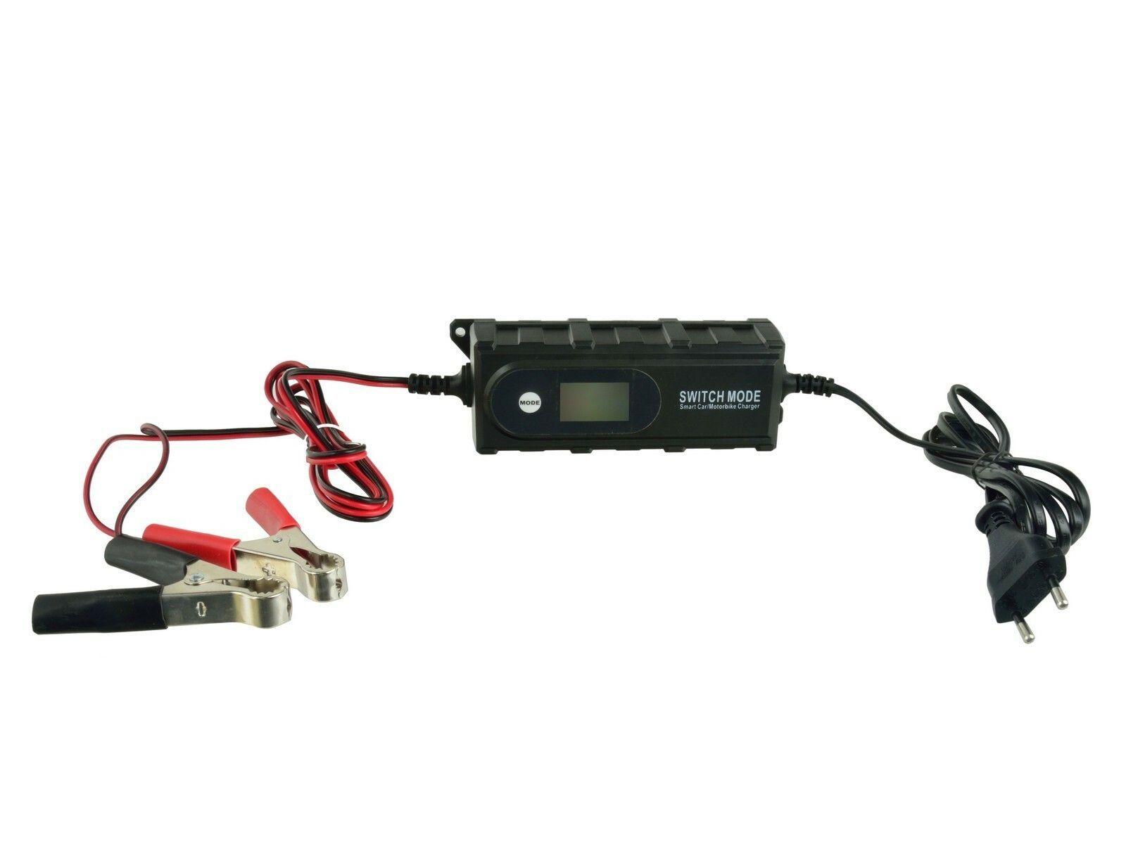 Nabíječka baterií GEL a AGM 6/12V