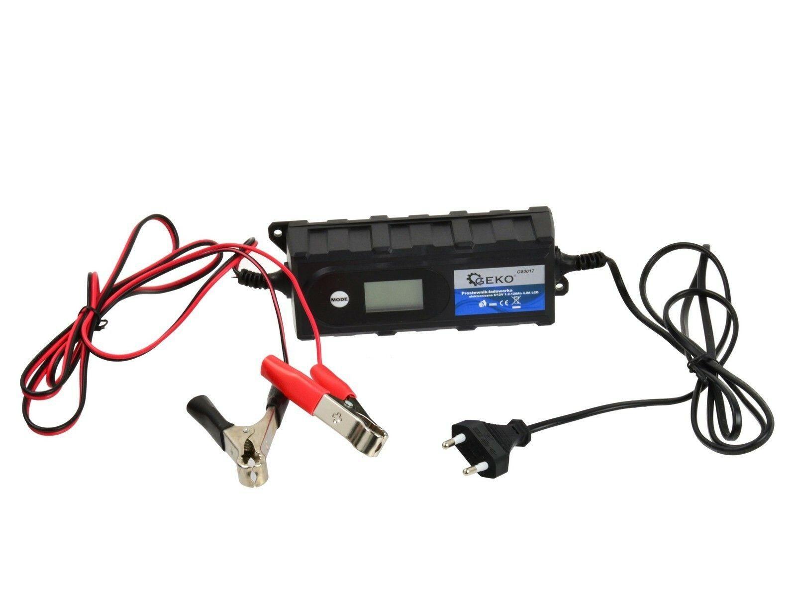 Nabíječka baterií 6/12V 1,2-120Ah 4,0A LCD