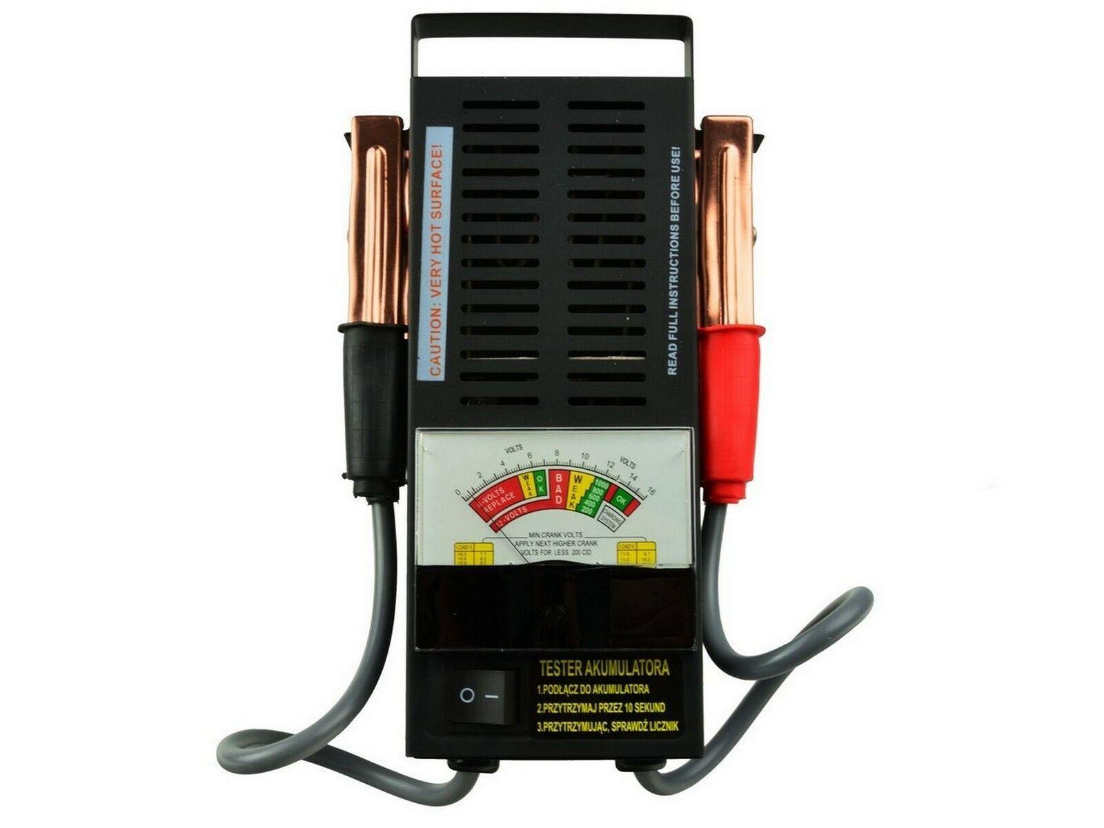 Tester autobaterie zátěžový analogový, GEKO