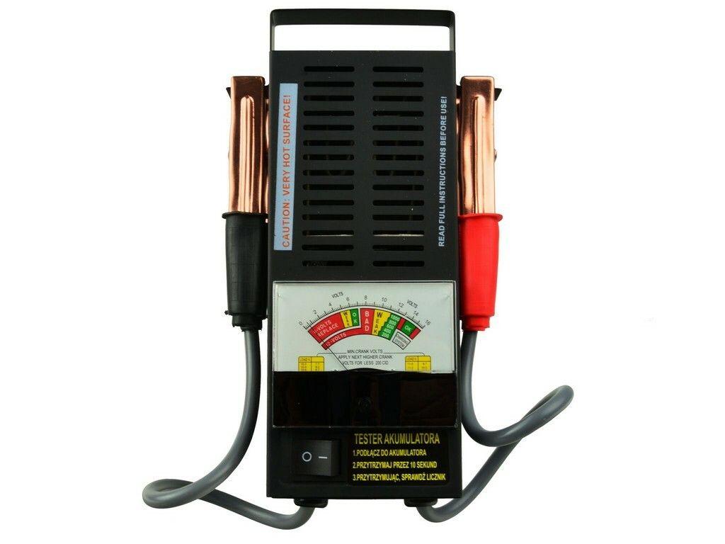 Tester autobaterie zátěžový analogový, GEKO, G80028