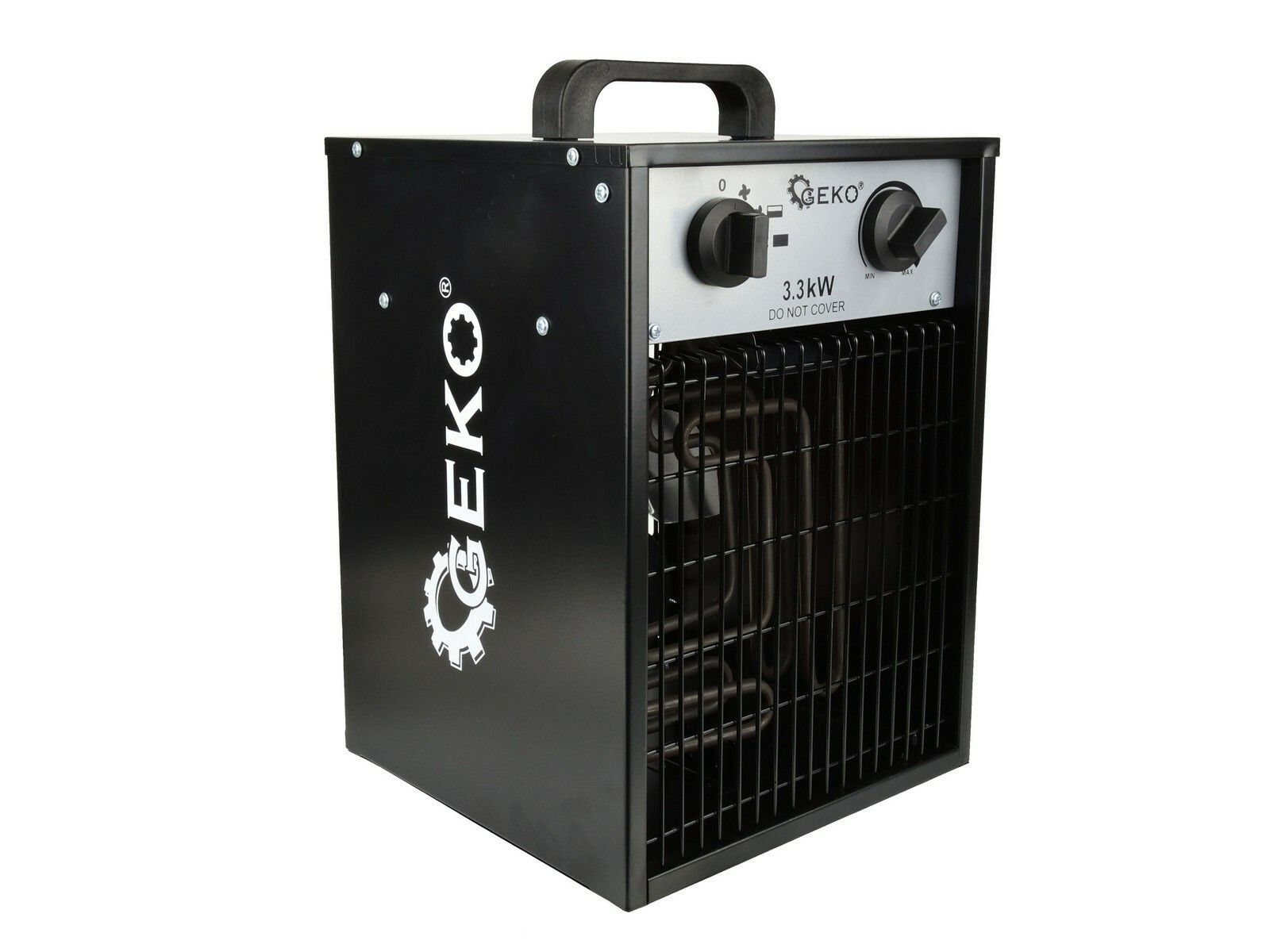 Elektrický ohřívač vzduchu s ventilátorem 3,3kW