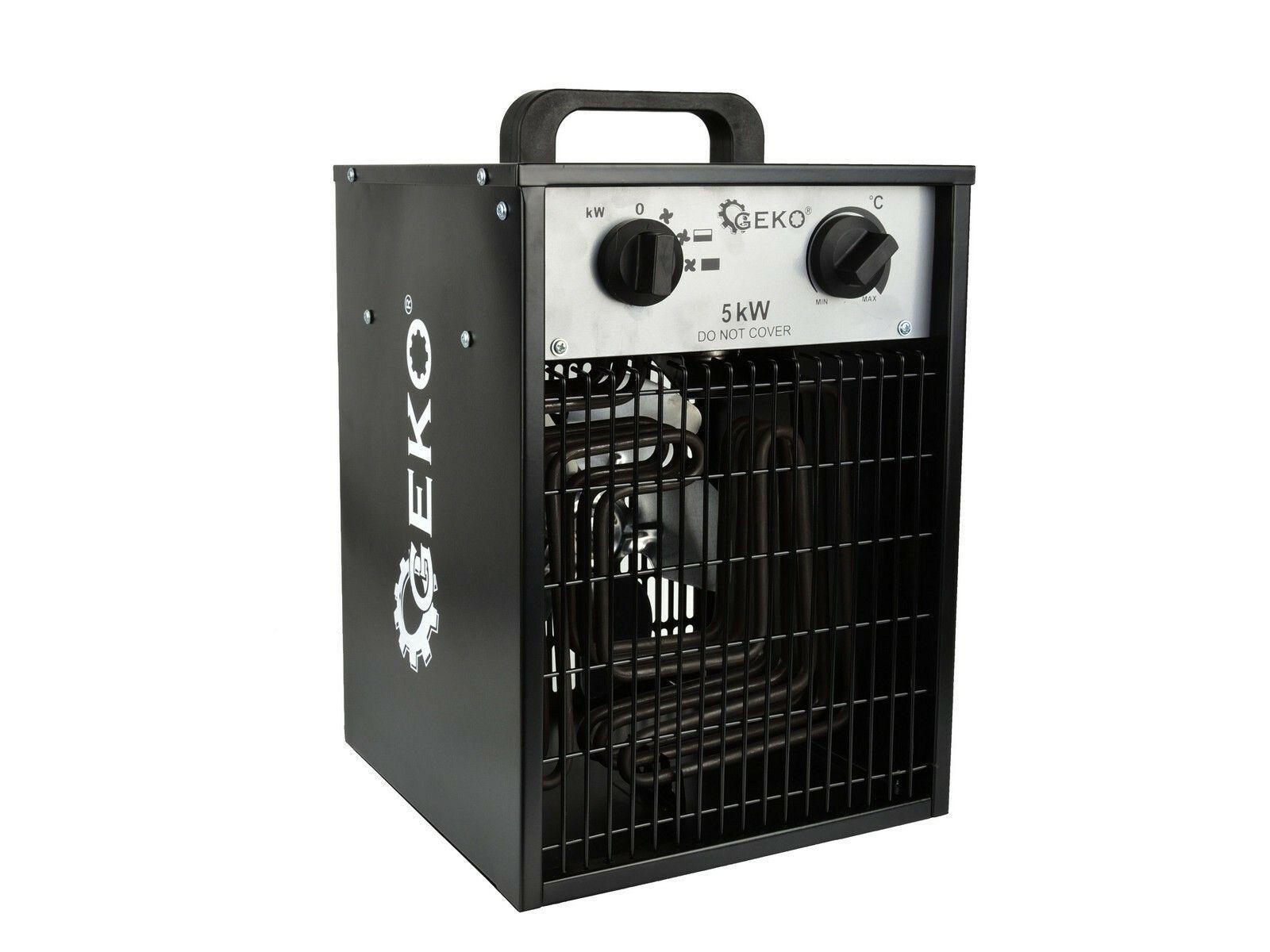 Elektrický ohřívač vzduchu s ventilátorem 5kW