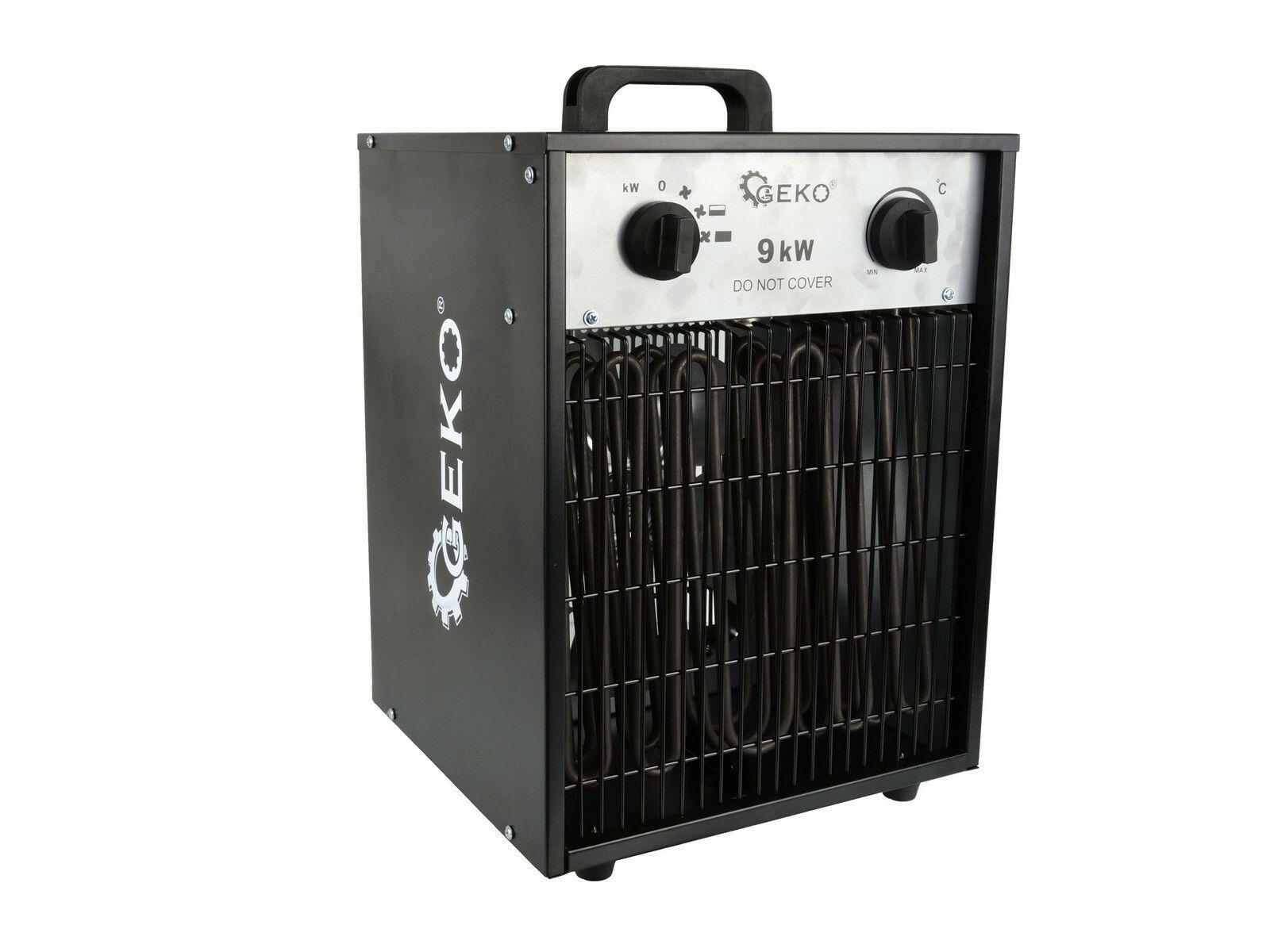 Elektrický ohřívač vzduchu s ventilátorem 9kW