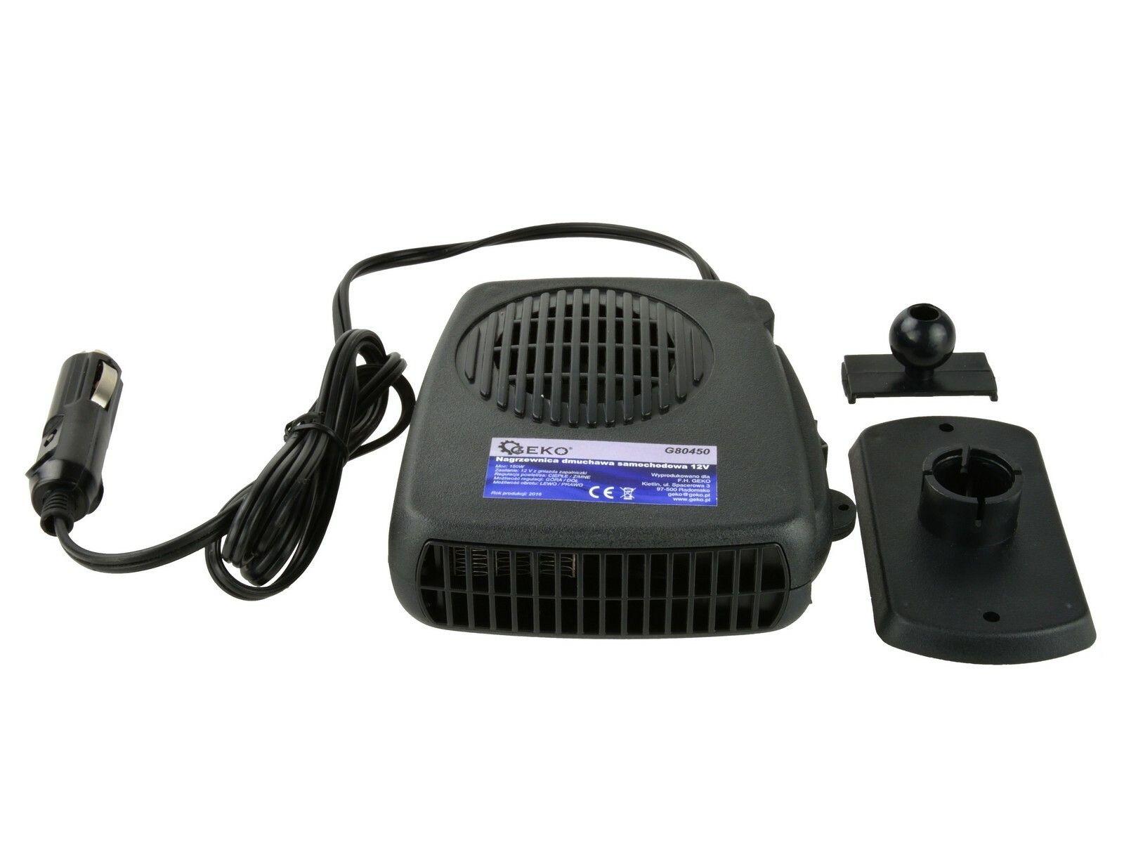 Ohřívač vzduchu 12V, 150W