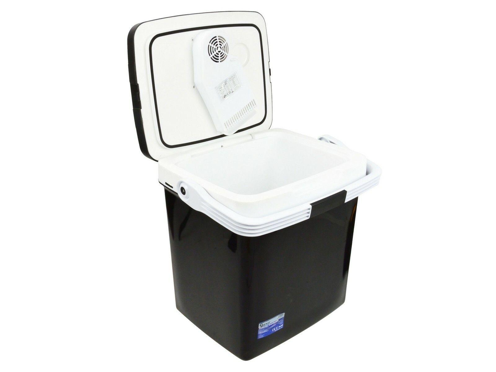 Chladící box 26litrů, 230/12V, displej s teplotou