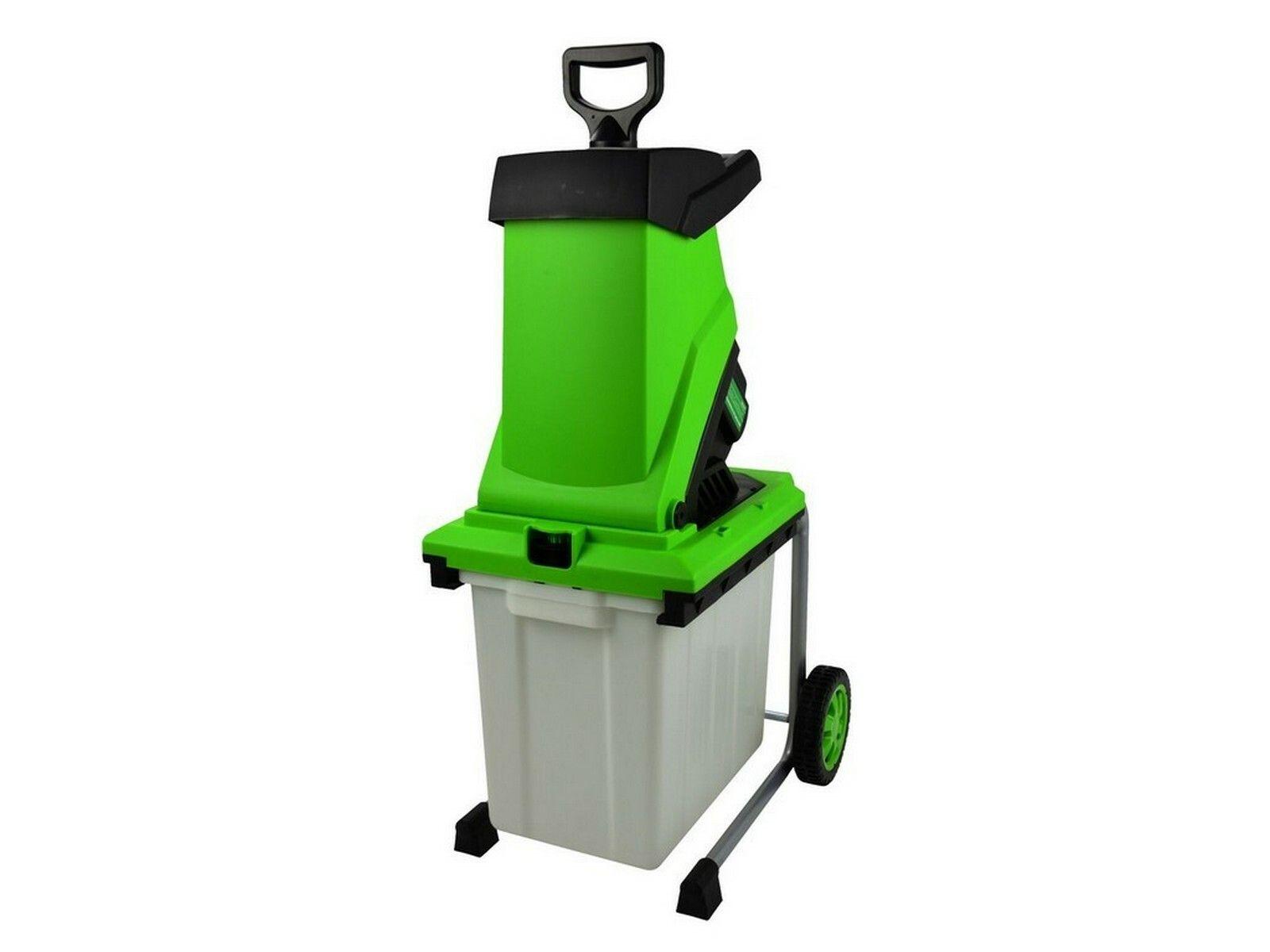 Drtič zahradního odpadu s boxem, 3000W, 50l