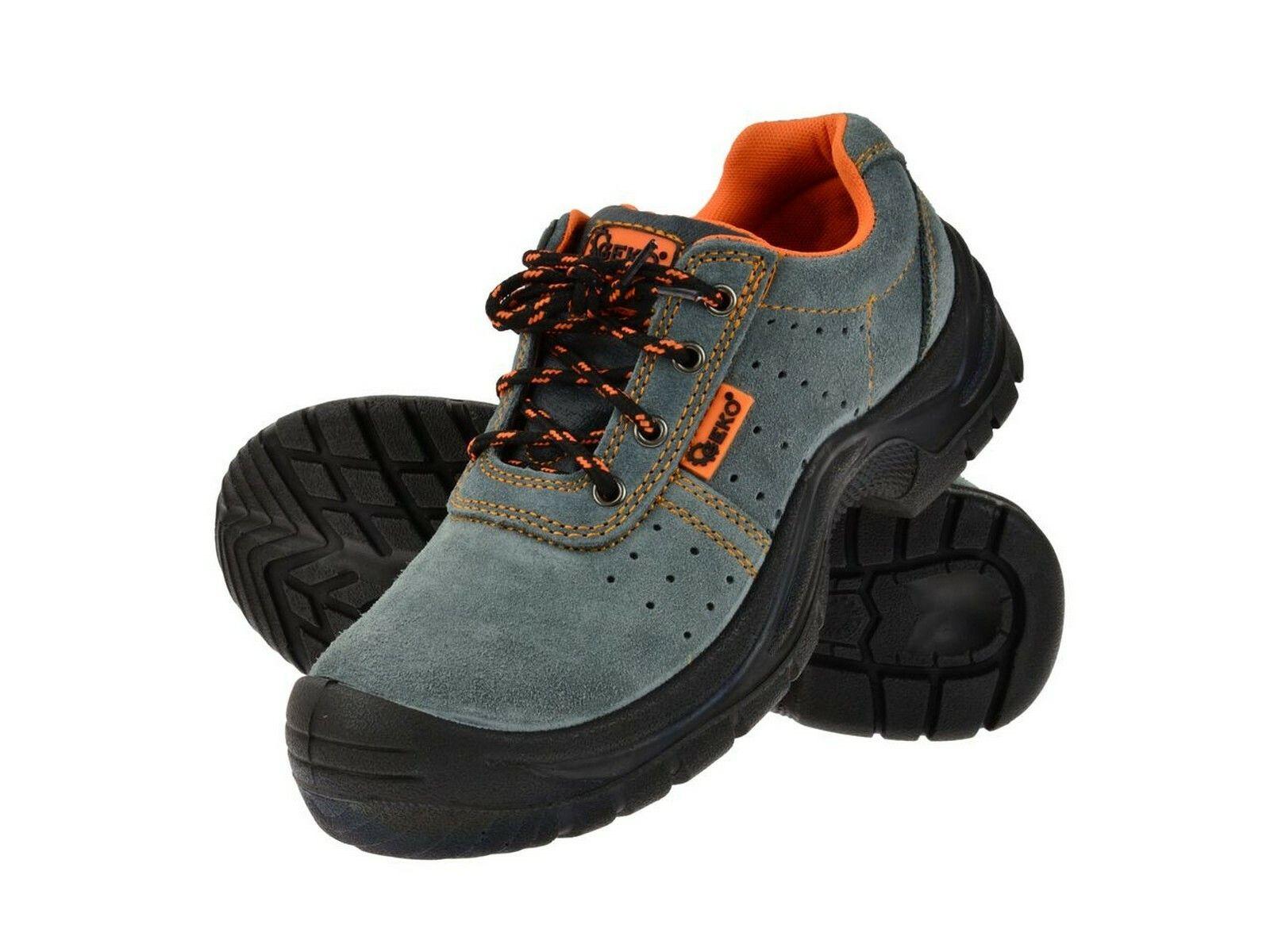 Ochranné pracovní boty semišové model č.3 vel.39
