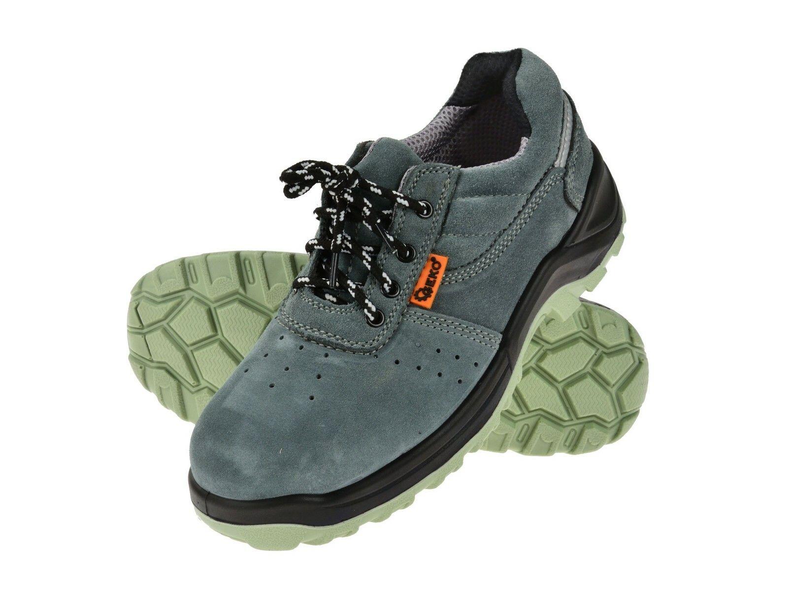 Ochranné pracovní boty semišové model č.4 vel.39