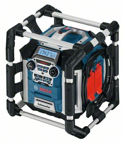 Rádio s nabíječkou Bosch GML 50 Professional, bez baterie, 0601429600