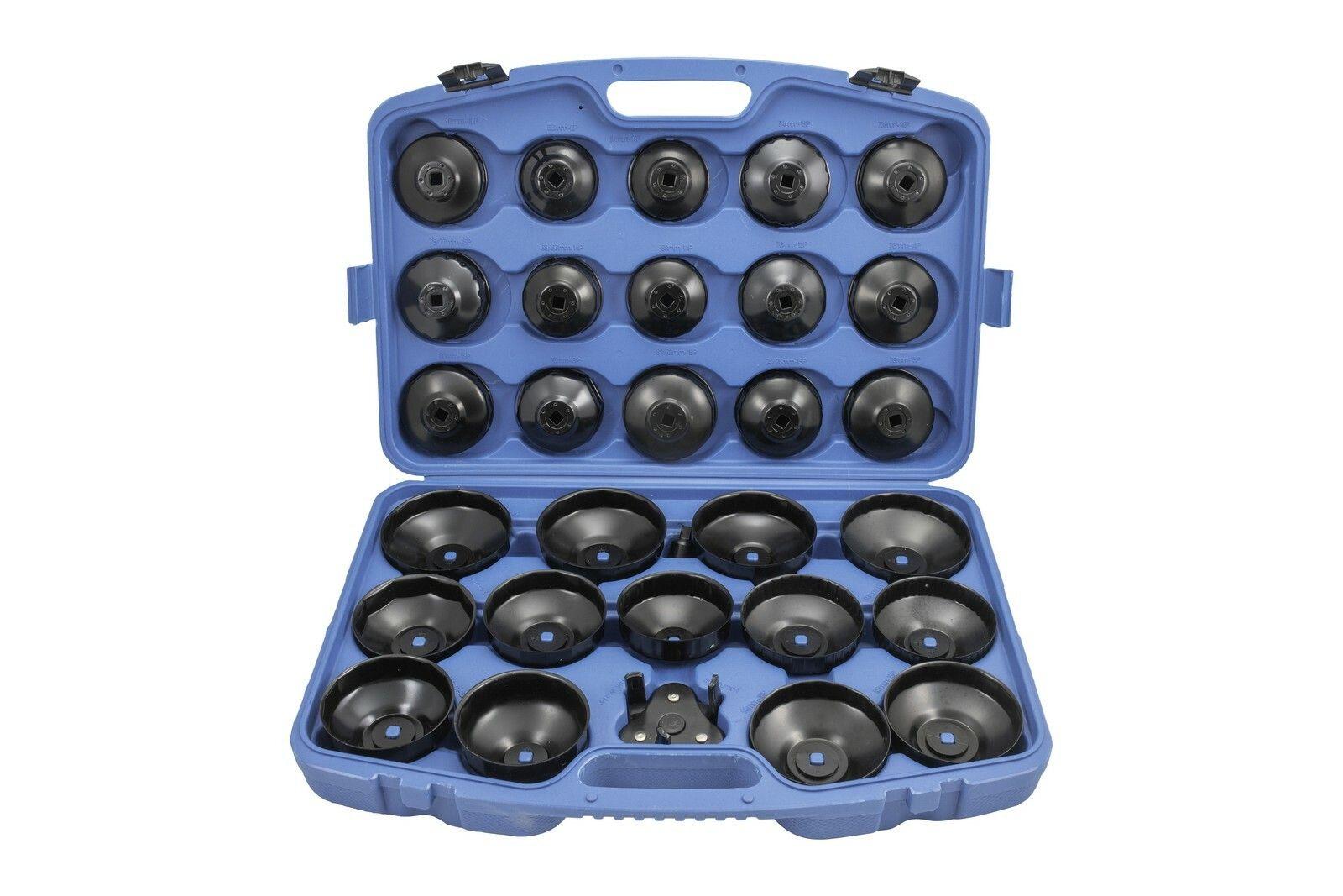 Klíče na olejové filtry, sada 30 kusů