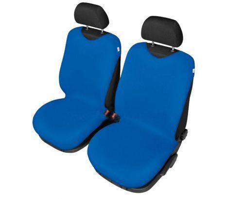 Autopotahy Tričko BAVLA na přední sedadla - světlé modré