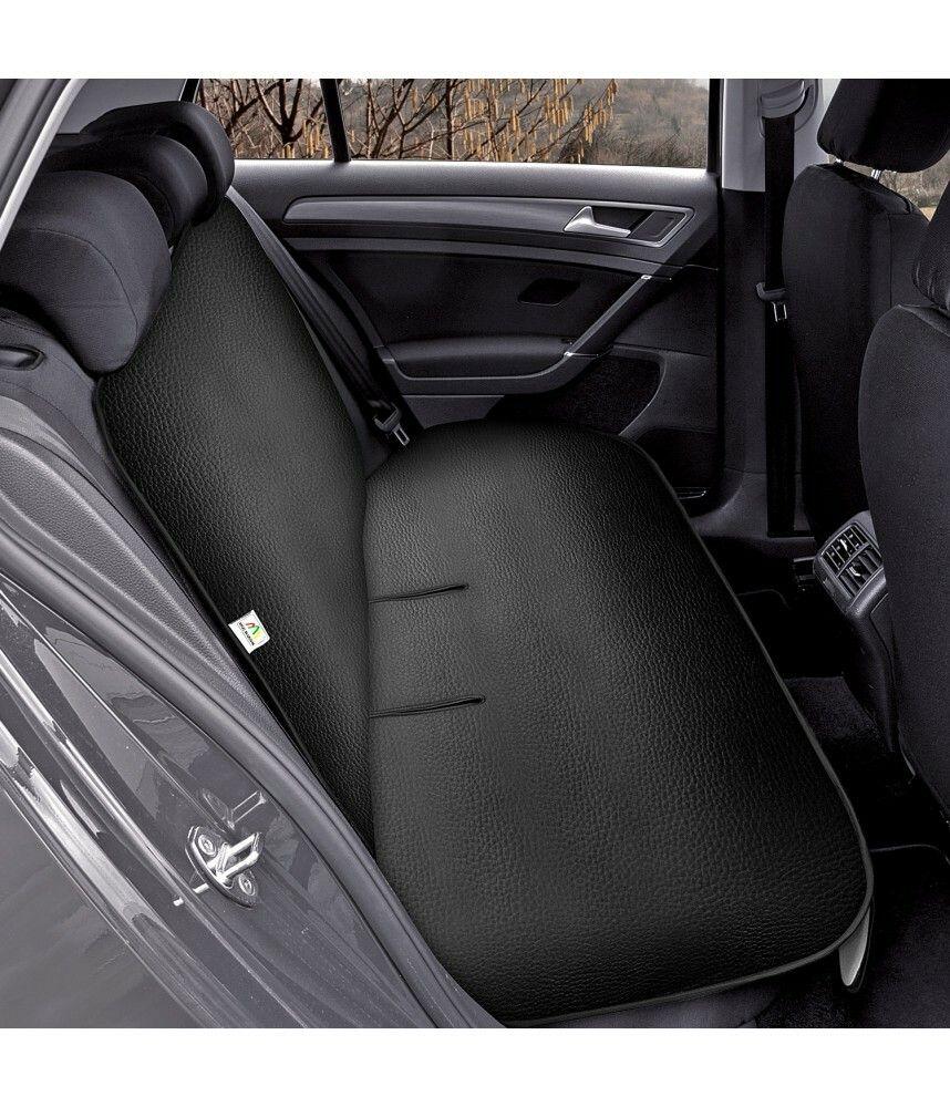 Ochranná podložka na zadní sedadlo JUNIOR DUO Artificial Leather černá