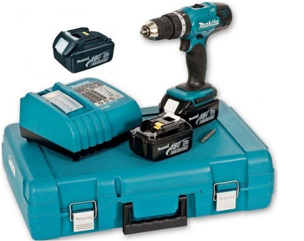 Aku šroubovák příklepový Makita DHP453RFE3-D 18V 3,0Ah Li-Ion, 3x baterie