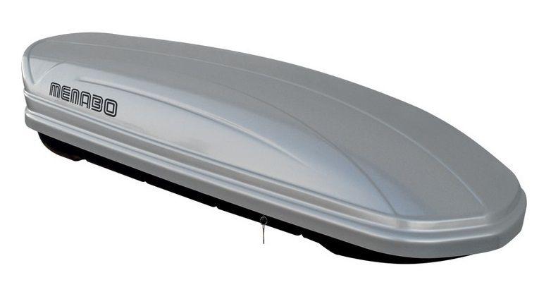 Střešní box Mania 400 ABS stříbrný, MENABO