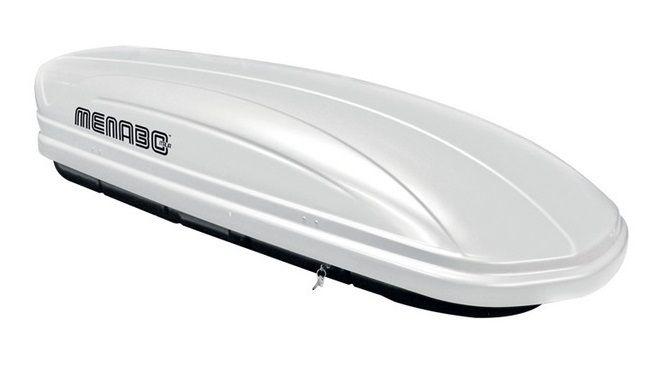 Střešní box Mania 400 ABS bílý, MENABO
