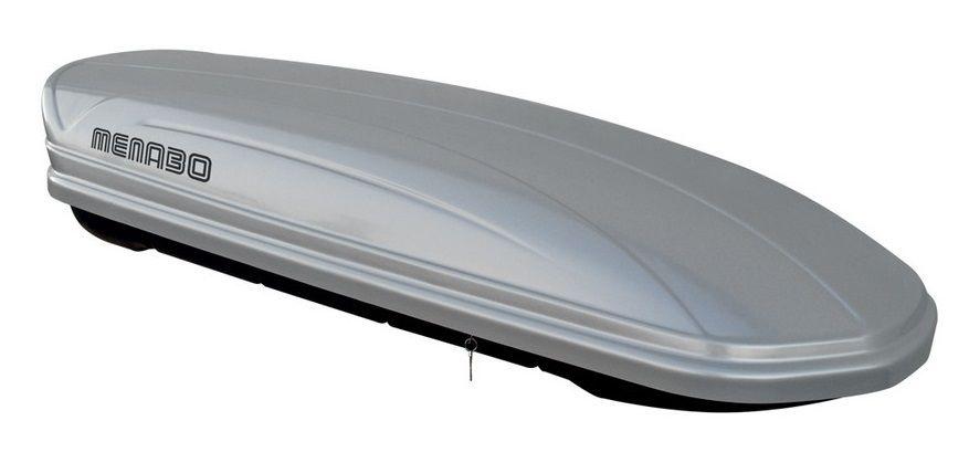 Střešní box Mania 580 ABS stříbrný, MENABO