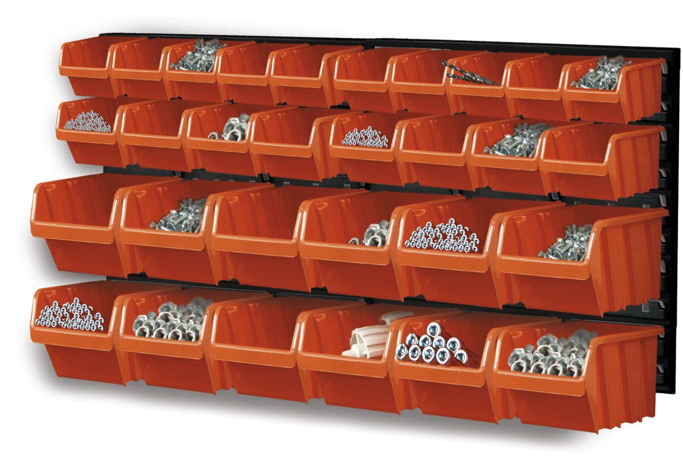 Závěsný organizér/držák s 30 boxy NTBNP3 ORDERLINE