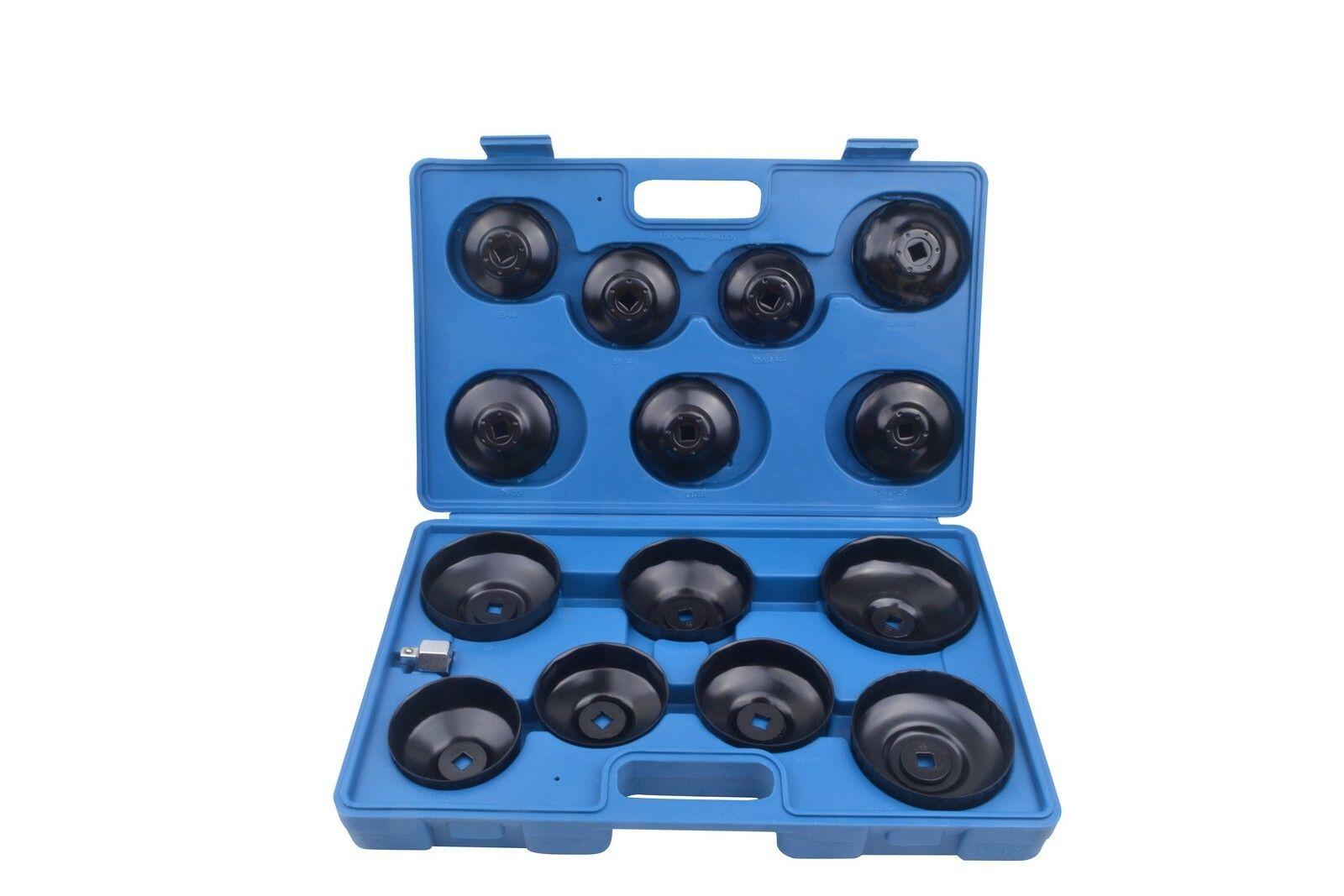 Klíče na olejové filtry, sada 15 kusů