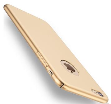 Plastový kryt pro Apple iPhone 7 plus, zlatý