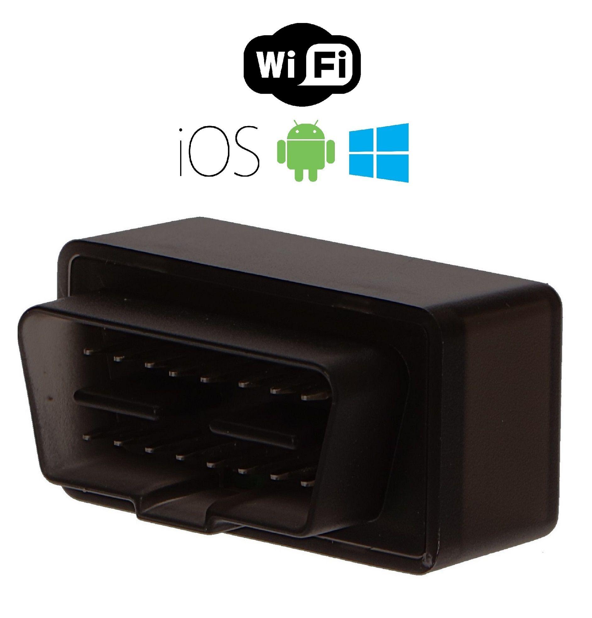 Autodiagnostika SX1 WiFi černá, IOS, Android (zdarma SX OBD aplikace)