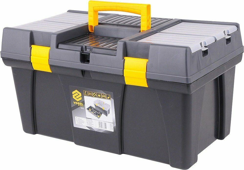 """Box na nářadí plastový 23"""", 2 zámky"""