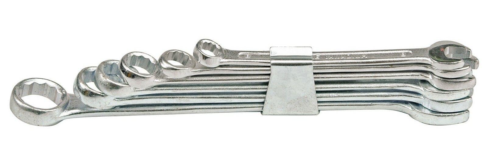 Sada klíčů očkoplochých 6 ks 8 - 17 mm spona